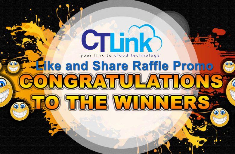 CT Link Facebook Like Raffle Winners