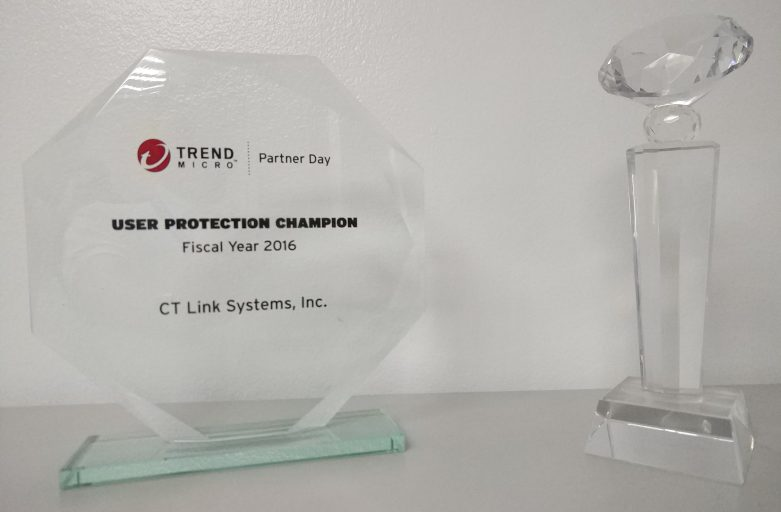 Trend Micro Philippines Presents 3 Awards to CT Link Systems, Inc.