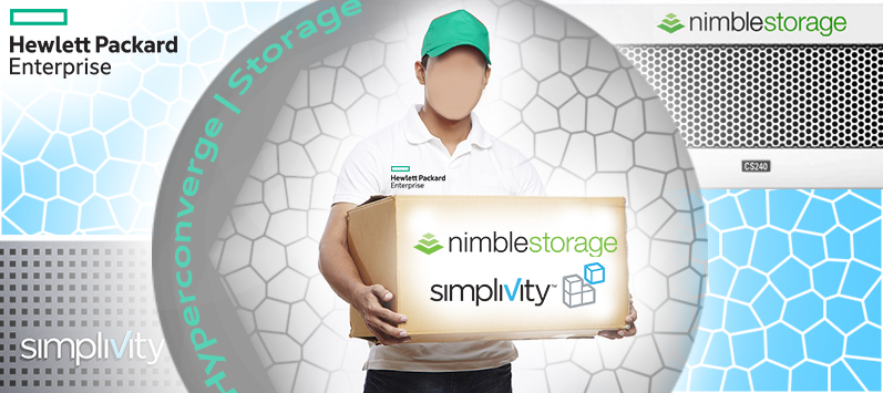 HPE Acquires Both SimpliVity and Nimble Storage