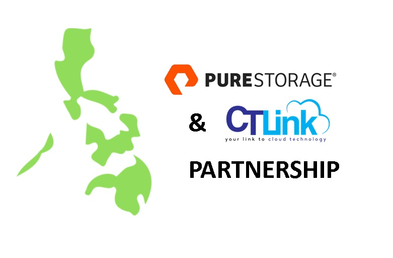 CT Link signs up to be a partner of Pure Storage!