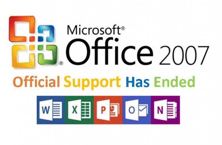 Office 2007 Support has officially ended