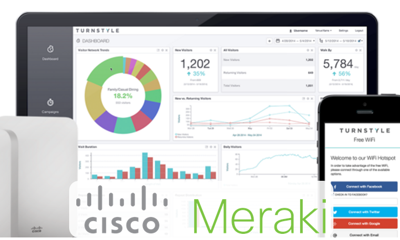 Increase your Network Visibility to better use your business bandwidth with Cisco Meraki!