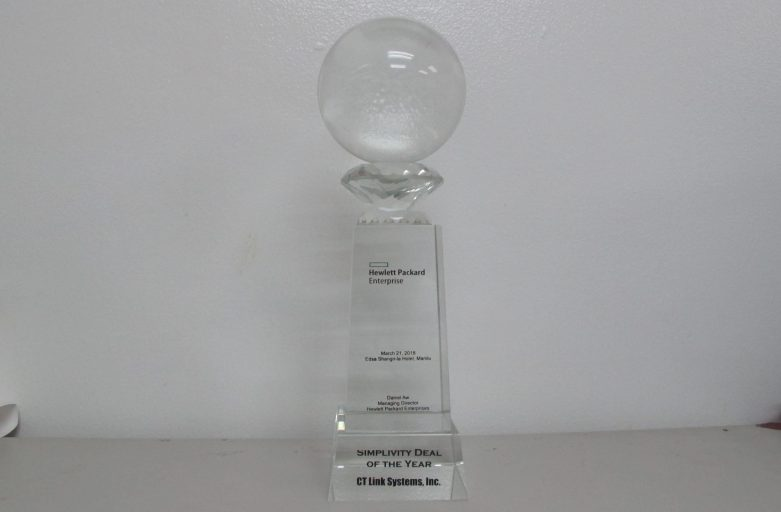 """HPE Awards CT Link with the """"Simplivity Deal of the Year"""" award!"""