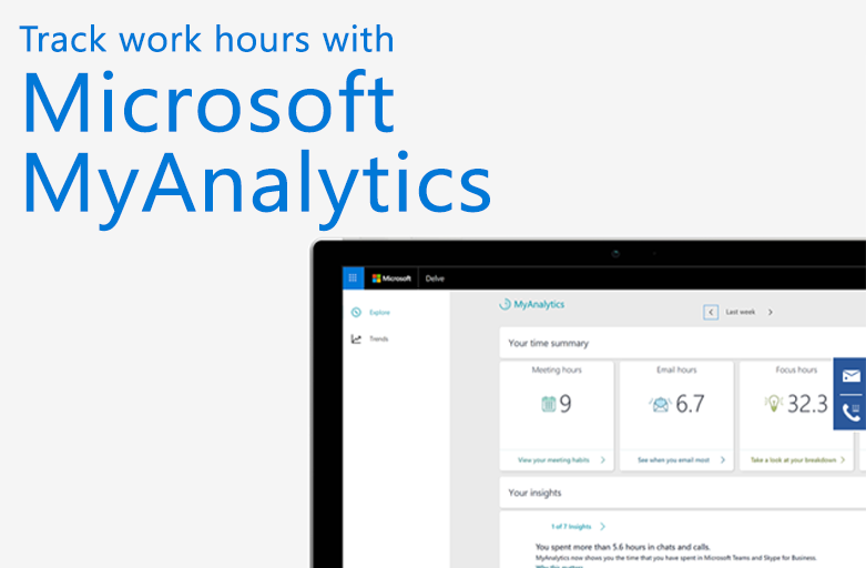 Microsoft Office 365: Taking a look at MyAnalytics